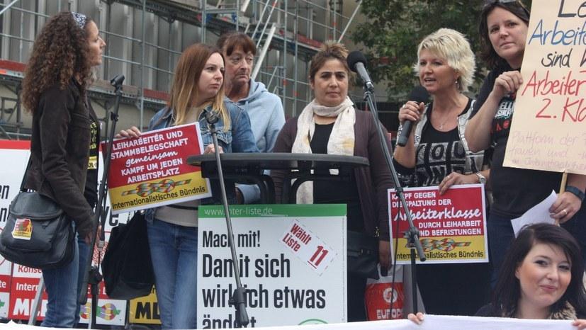 Protest Gegen Kündigung Der Leiharbeiter Bei Vw In Wolfsburg Website